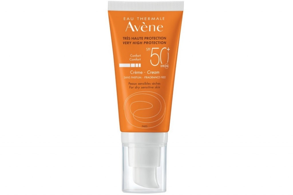 Avene SUN Very high protection Cream FRAGRANCE FREE SPF50+