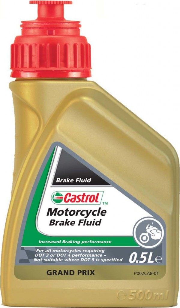 Castrol Motorcycle Brake Fluid DOT 3