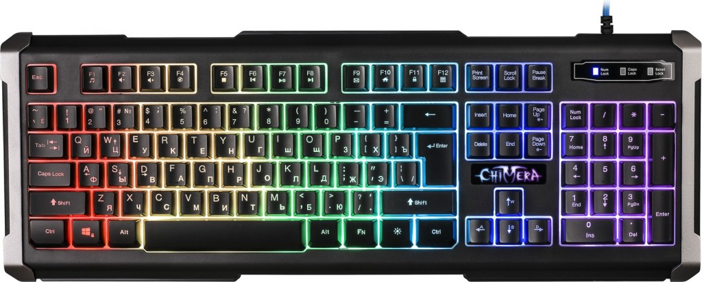 Defender Chimera GK-280DL RU RGB Black USB