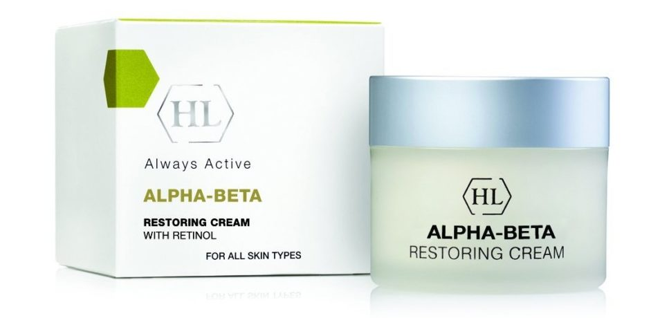 Holy Land Alpha-Beta With Retinol Restoring Cream
