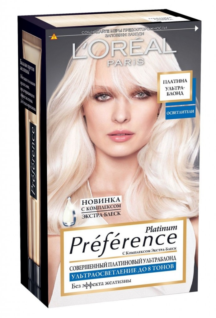 L'Oreal Paris Preference Platinum
