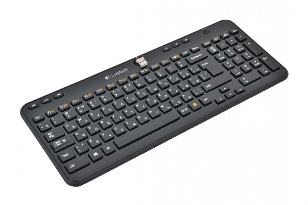 Logitech Wireless Keyboard K360 Black USB