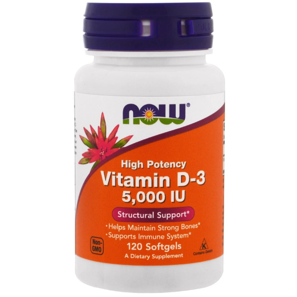 NOW Vitamin D-3 High Potency