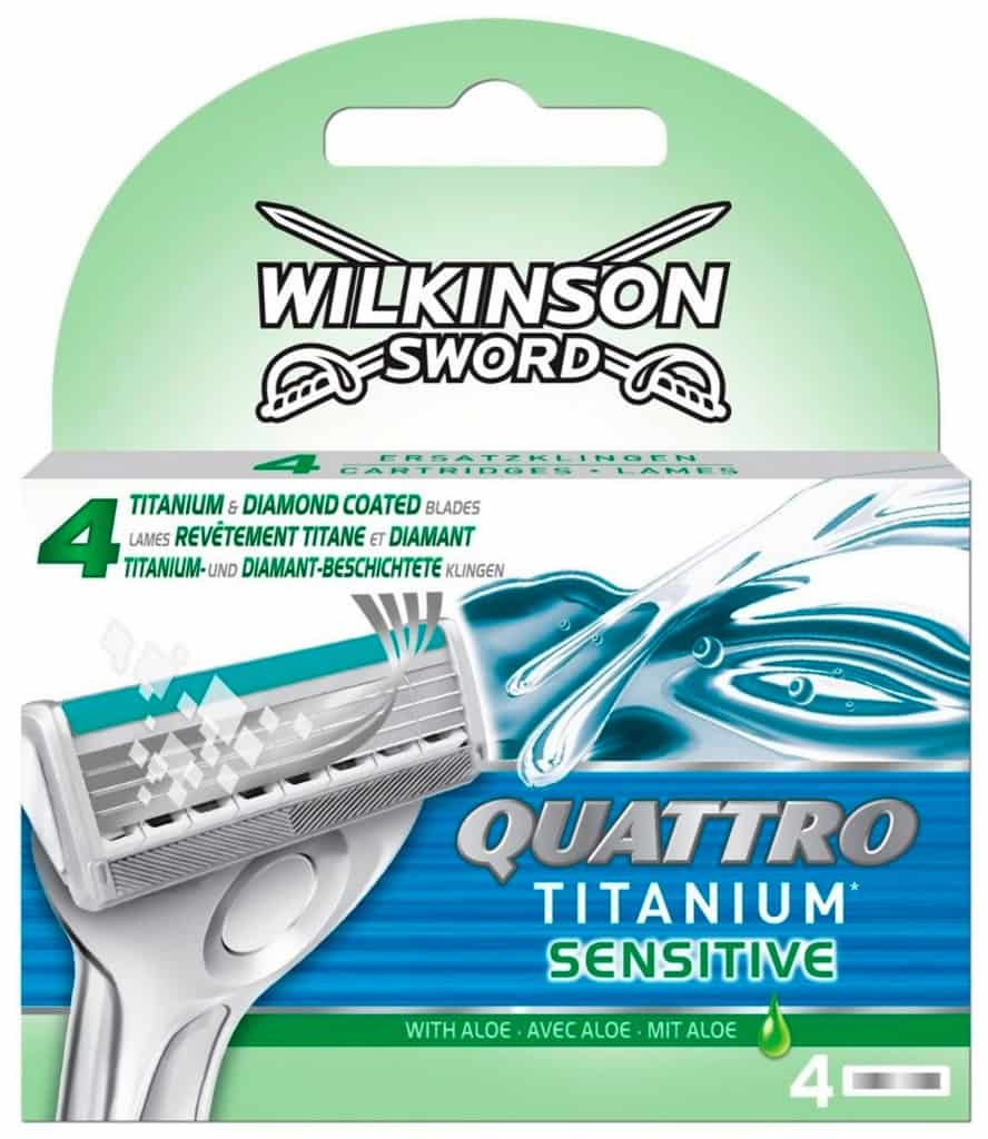 Schick Quattro Titanium Sensitive