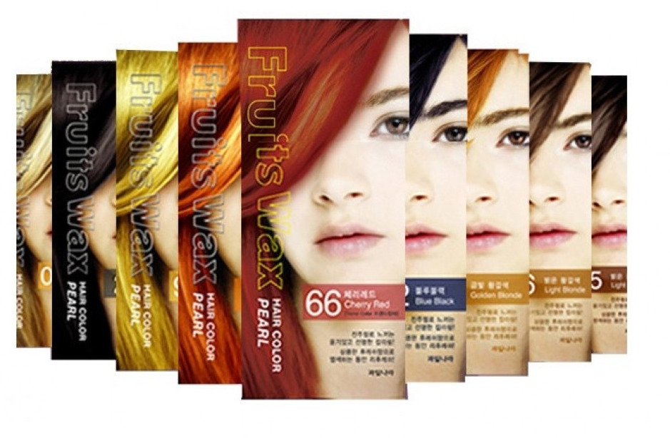 Welcos Fruits Wax Pearl Hair Color