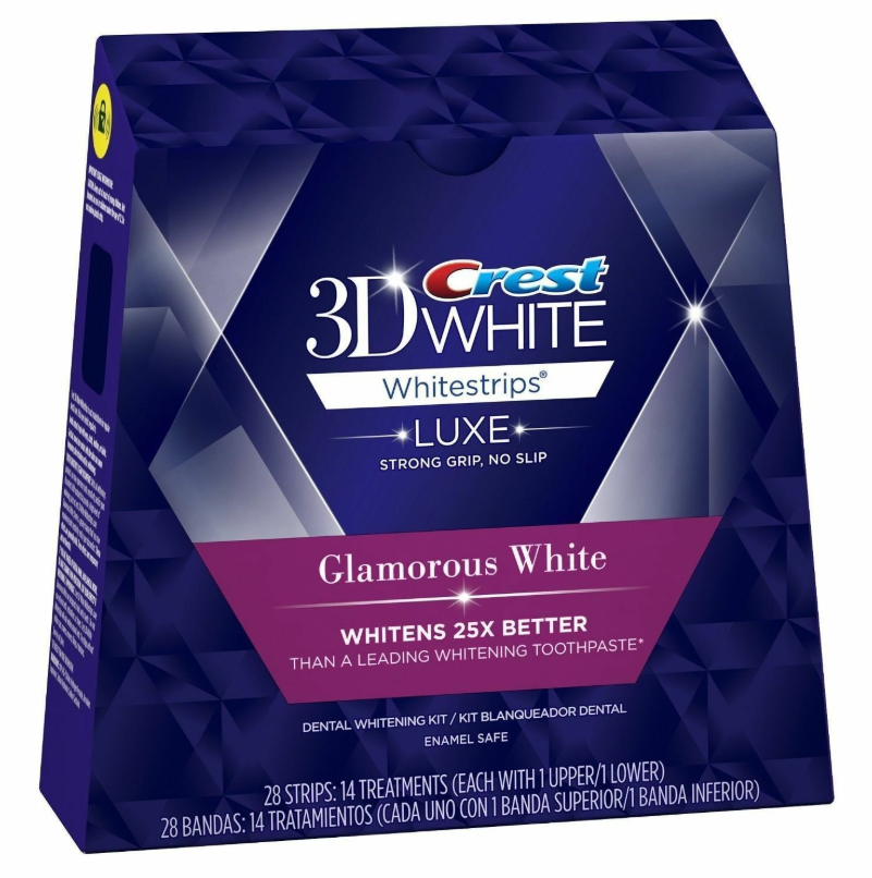 Crest 3D White Luxe Whitestrips Professional Effects