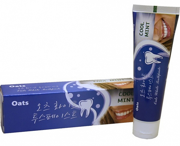 Oats White Toothpaste