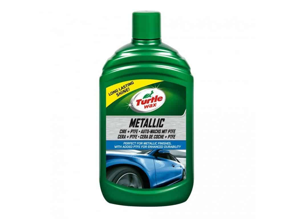 TURTLE WAX Metallic Car Wax + PTFE